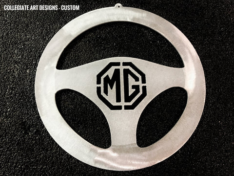 Custom Emblem Steering Wheels