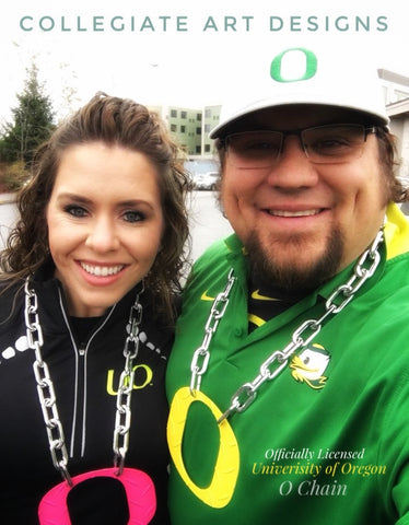 Baker O Chain Game Day Oregon Ducks Football