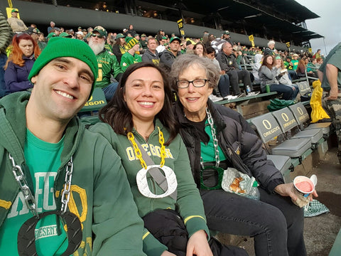 Callaghan Family O Chain Oregon Ducks Game