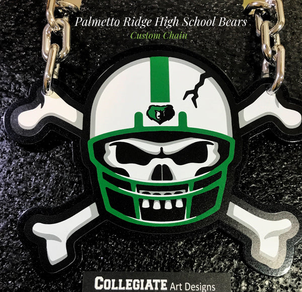 Custom Palmetto Ridge HS Team Logo Chain