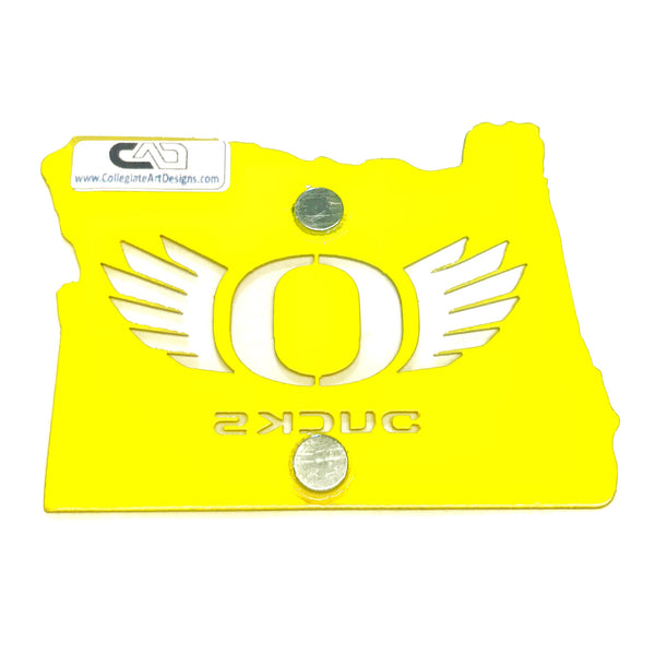 O-Wings In Oregon - Yellow - Magnet