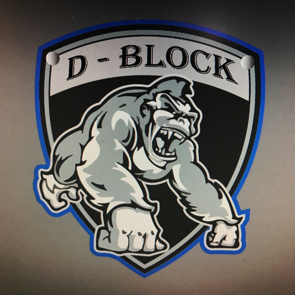 Custom Silverback D - Block Chain