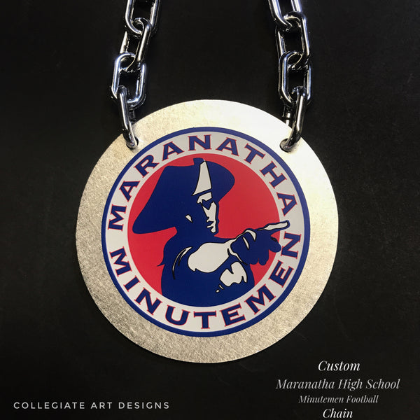 Custom Maranatha Minuteman High School Football