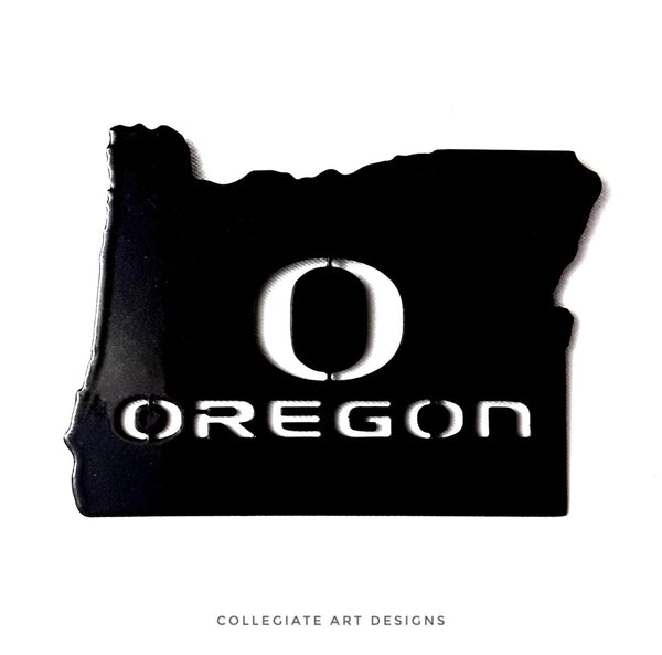O-Oregon In Oregon - Black - Magnet