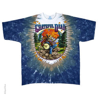Grateful Dead Banjo Tie Dye T-shirt