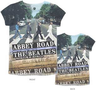 Beatles Abbey Road Ladies T-shirt