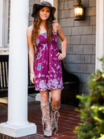 Tie Dye Smocked Strapless Dress or Tunic