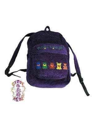 Grateful Dead Zen Dancing Bears  Backpack