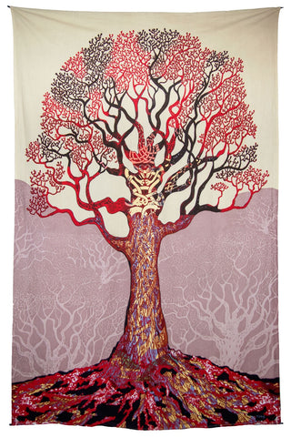 Tapestry-Celtic Tree of Life Tapestry
