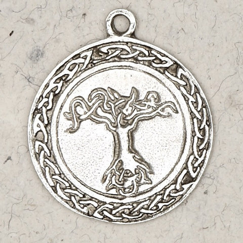Celtic Tree of Life Solid Pewter Design Necklace