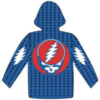 Grateful Dead Alpaca Style Stealie Zip Up Sweater