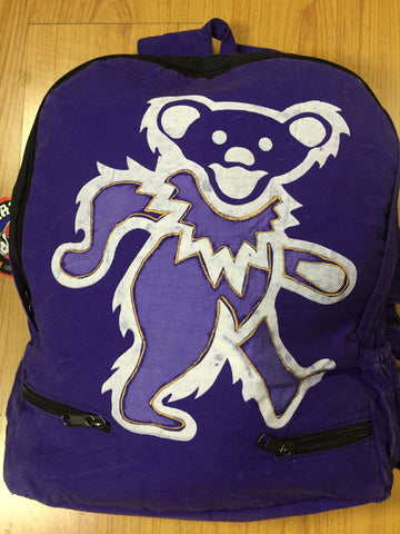 Grateful Dead Dancing Bear Cotton BackPack