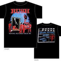 Rush Moving Pictures Tour T-shirt