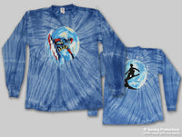 Grateful Dead Long Sleeve TieDye Snowboarding Tee