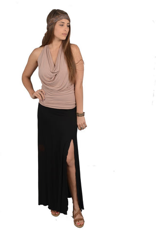 Maxi Skirt with 2 side slits