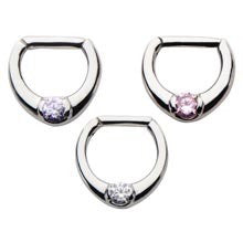 Septum Clicker with Single Gem