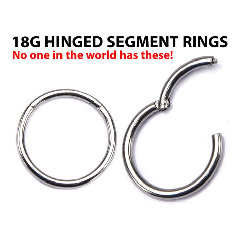 Segment Ring with Hinged Opening