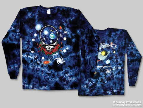 Grateful Dead Long Sleeve Space Your Face TieDye