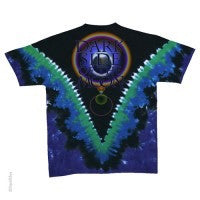 Pink Floyd Dark Side of the Moon Tie Dyed T-shirt