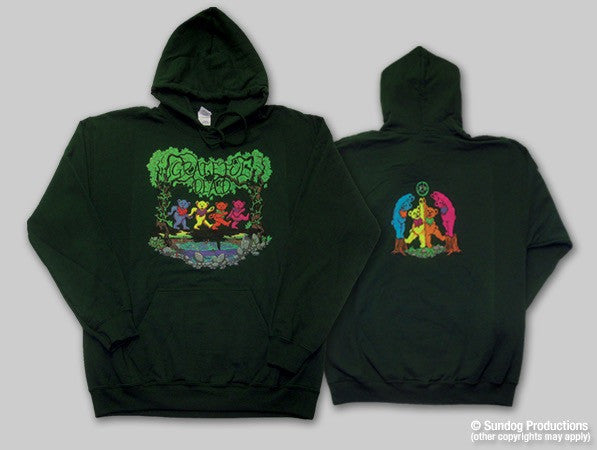 Grateful Dead Hoody with Dancing Bears