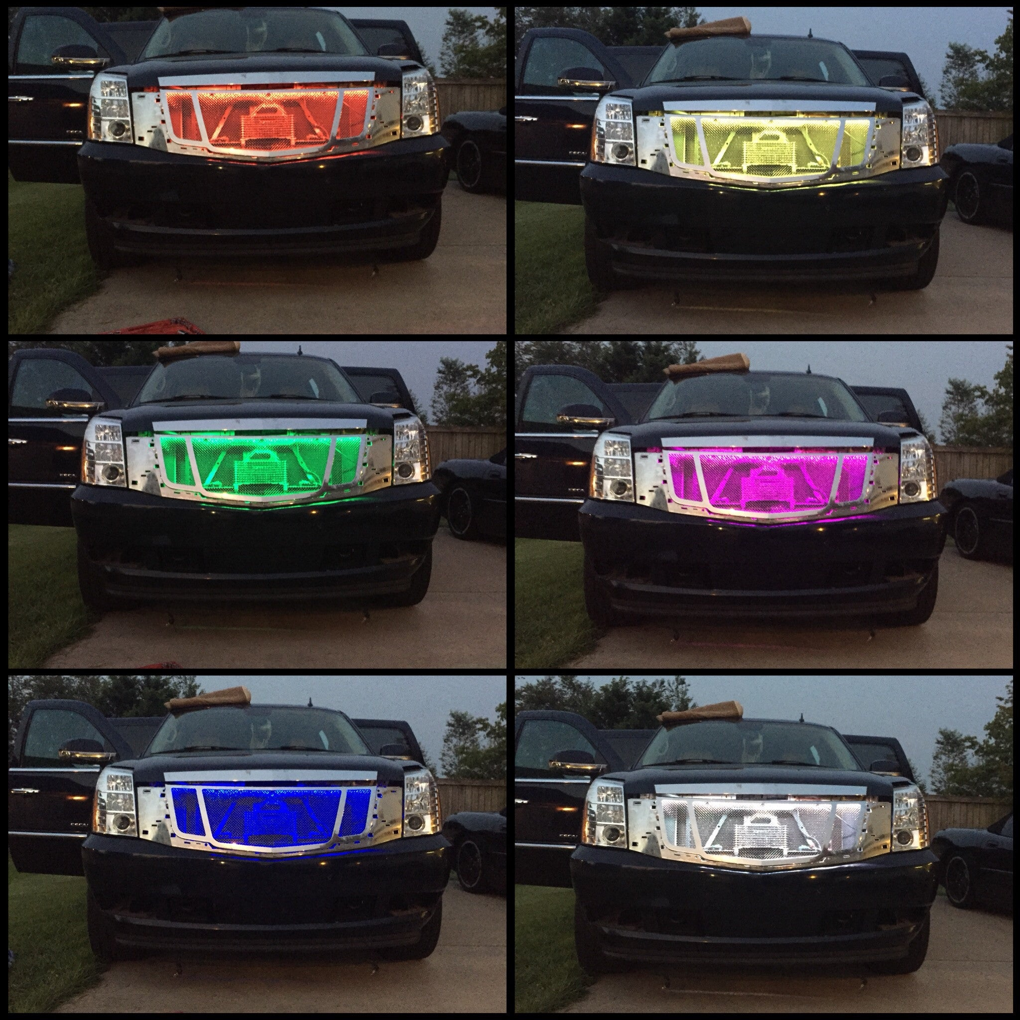 Colour changing car technology - Color Changing Grill Lights