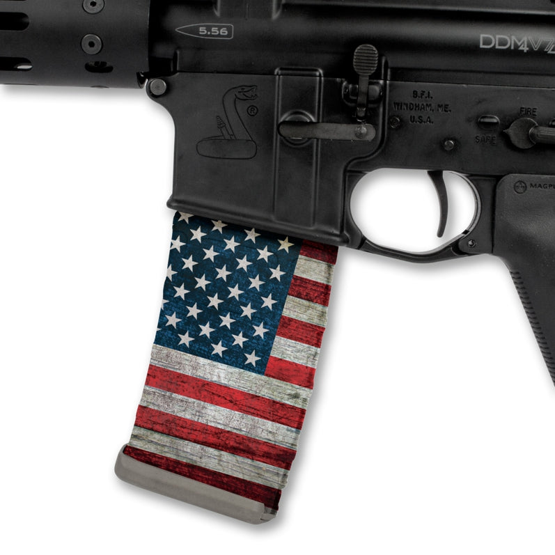 Patriot RWB Flag Mag Wrap (3 Pack)