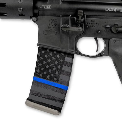 Thin Blue Line Mag Wrap