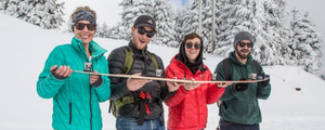Folding Shot Ski, Will Travel (Plus Other Amazing Gift Ideas for the Holidays)