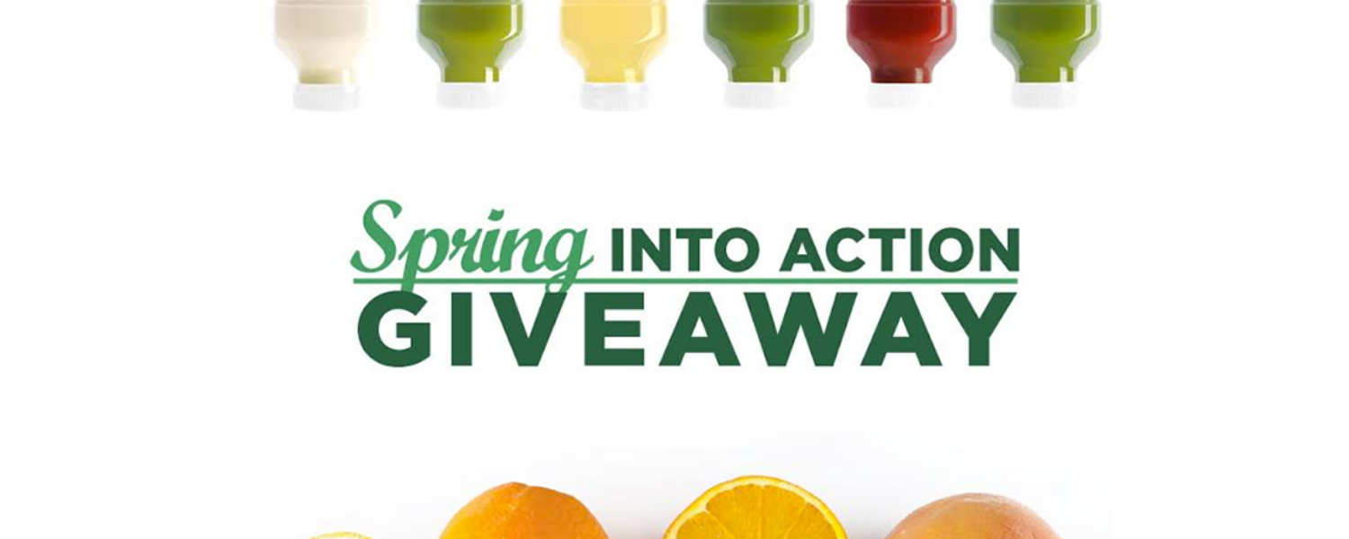 The Spring into Action Giveaway