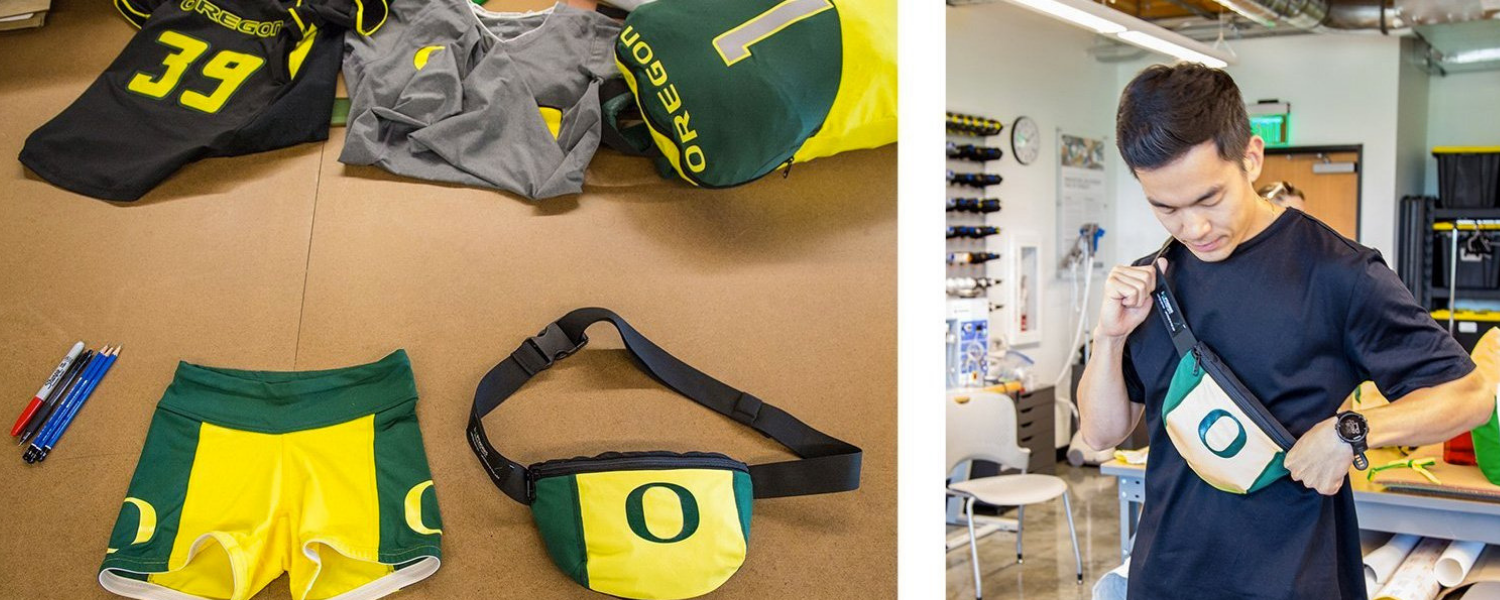 Re-Duck: Upcycling Uniforms from University of Oregon Athletics