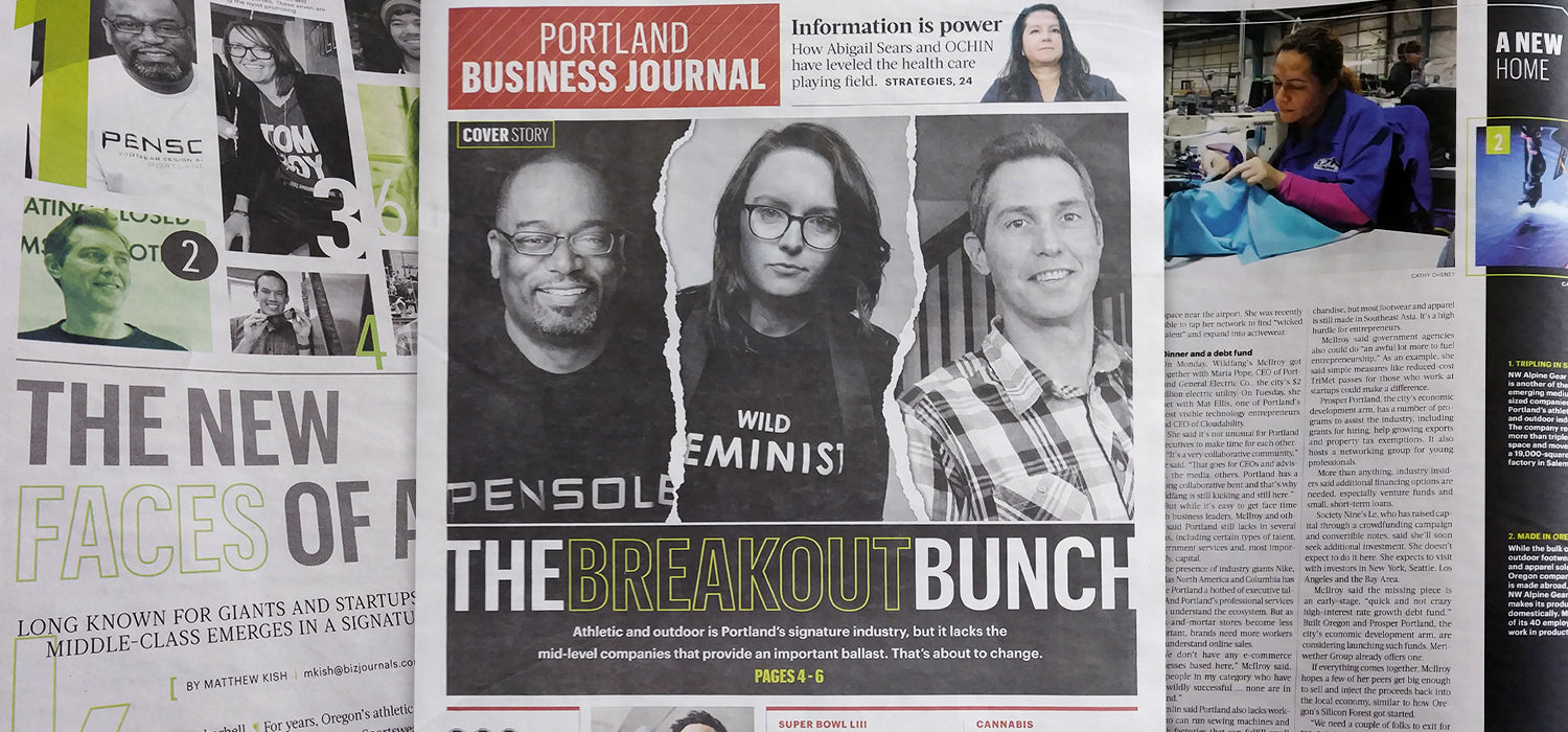Portland Business Journal: The Breakout Bunch