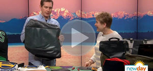 Looptworks Visits the King5 Studios to talk Upcycling on New Day Northwest