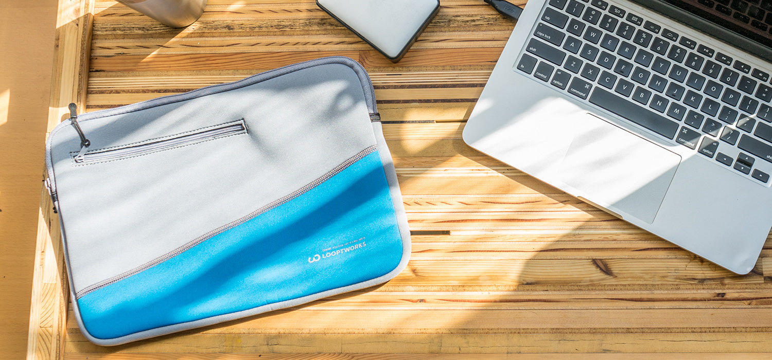Mat Magazine: Surf's Up with Upcycled Wetsuit Laptop Sleeves