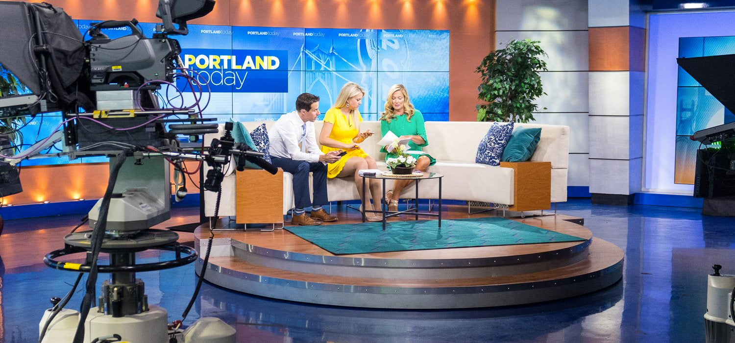 New Carry-On Bags Launched with Live Segment on Portland Today: Looptworks makes Bags from Airline Seats