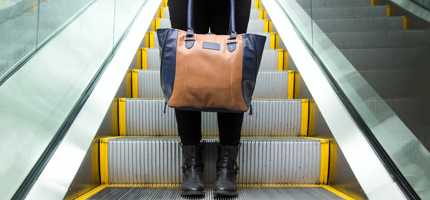 Go Local PDX: Turning Airline Seats into Sturdy and Fashionable Bags