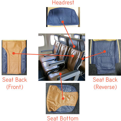 Southwest Seats Disassembled