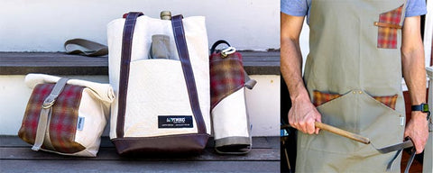 Pendleton & Looptworks Upcycled Wine & Dine Collection