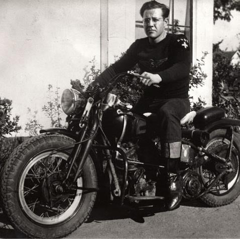 Ross Langlitz, founder of Langlitz Leathers