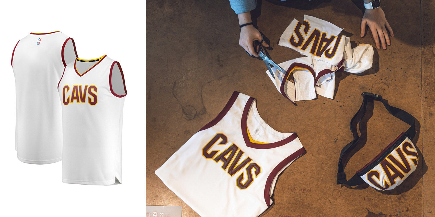 upcycling cavaliers jerseys
