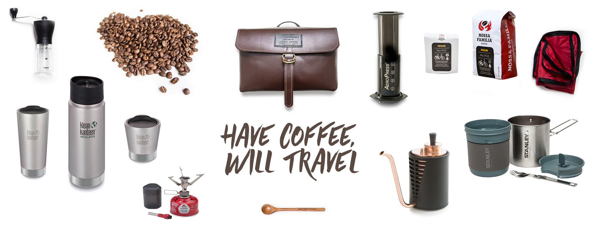 Have Coffee Will Travel Prize Package