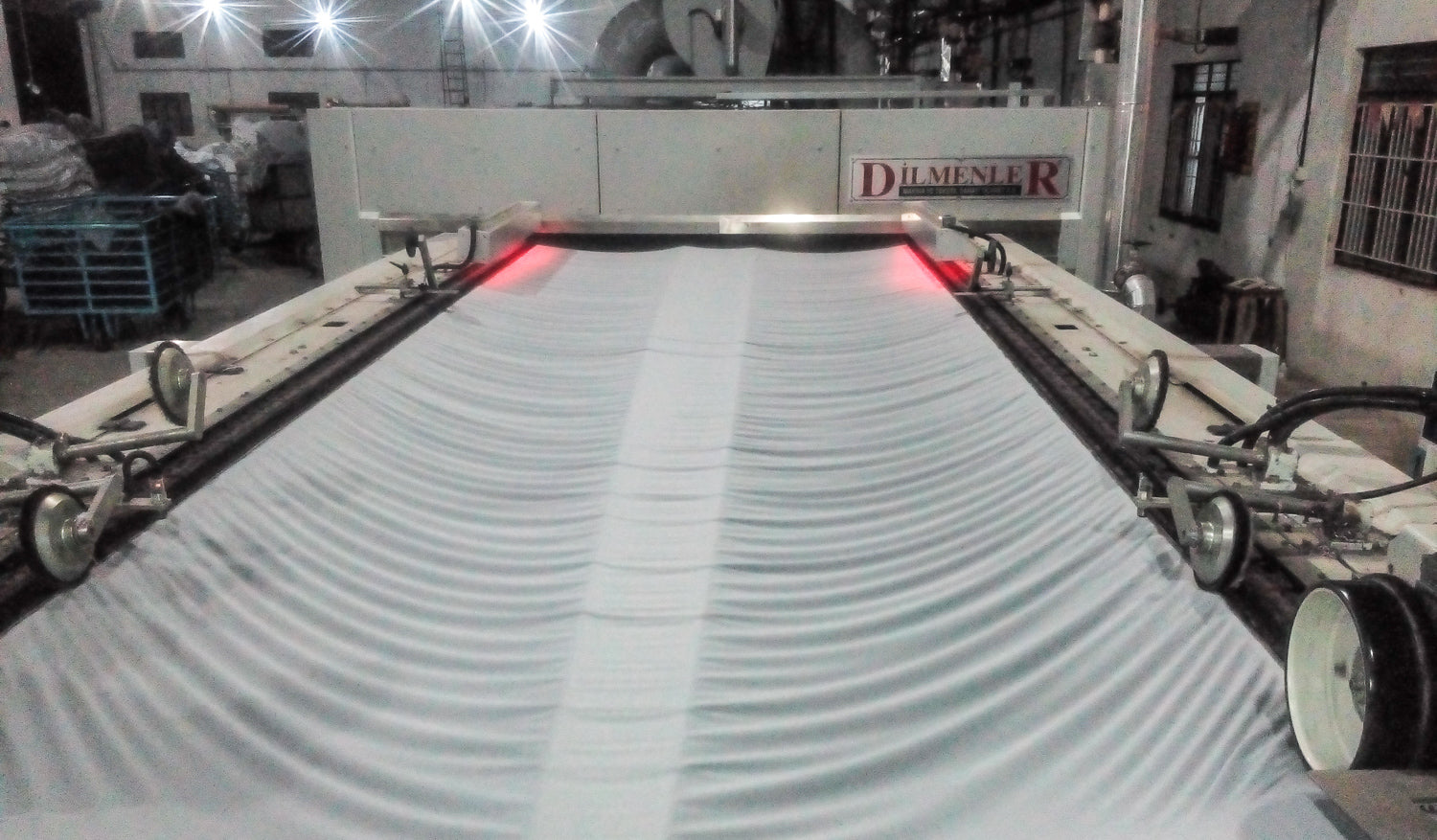 Preparing fabric for production