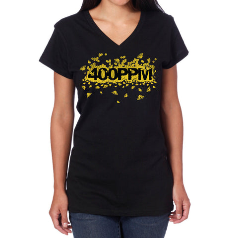 Looptworks 400 PPM Bee upcycled T-shirt