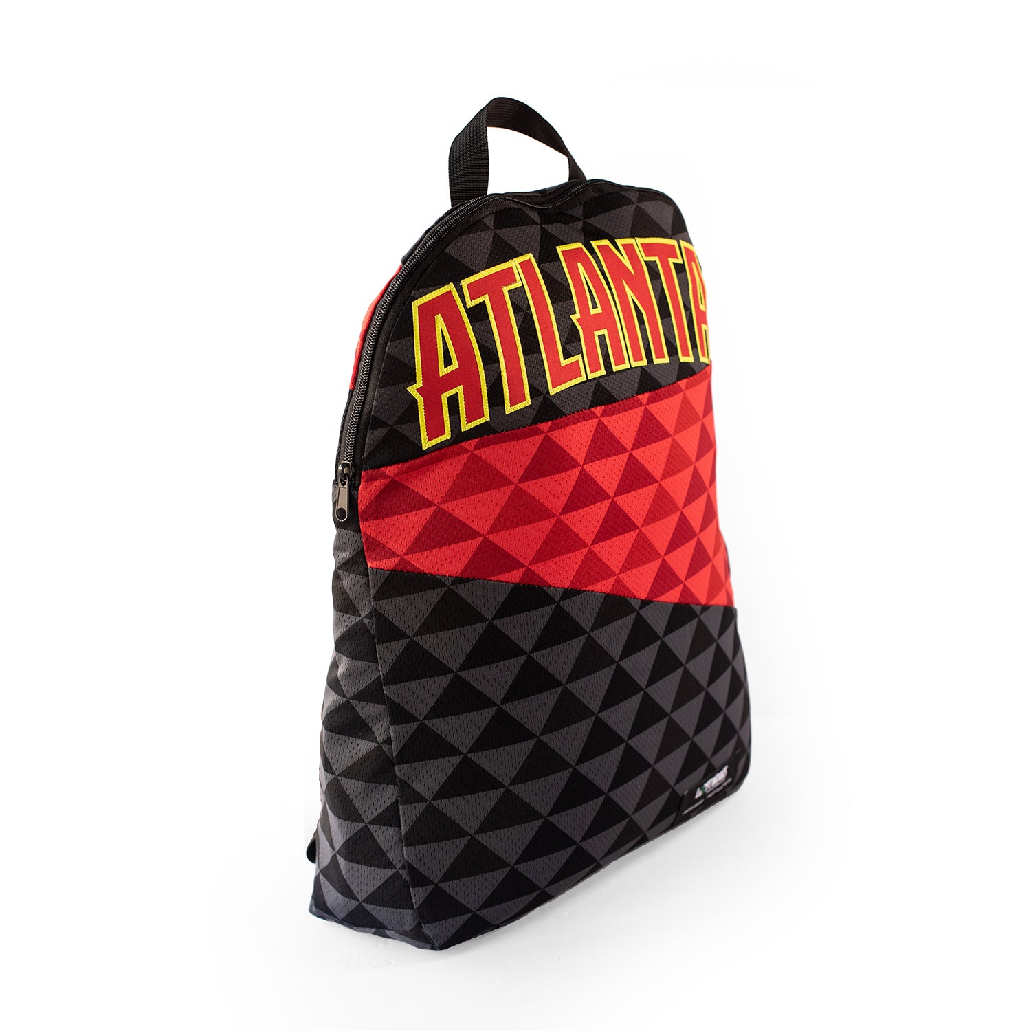 Atlanta Hawks Upcycled Jersey Packable Backpack Backpacks - Looptworks