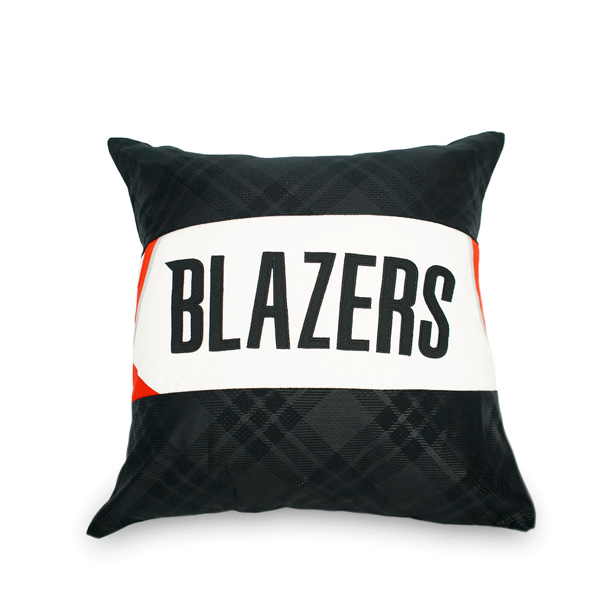 Portland Trail Blazers Upcycled Jersey Pillow