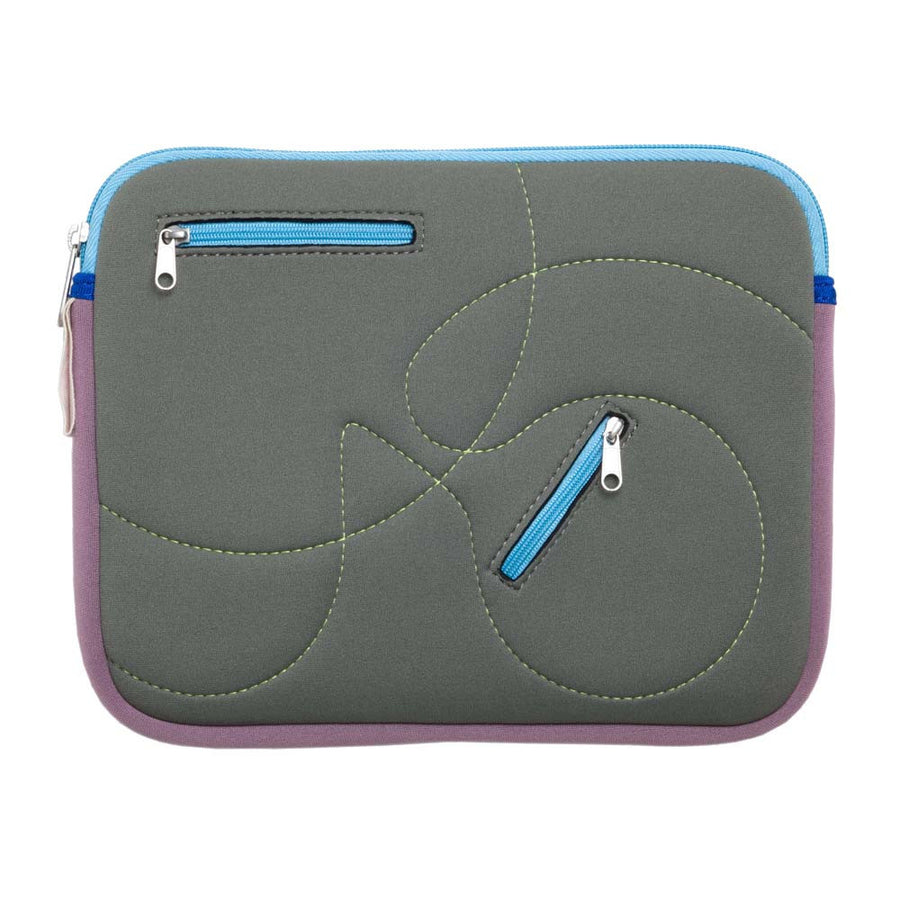 10 inch upcycled neoprene Looptworks ipad and device sleeve