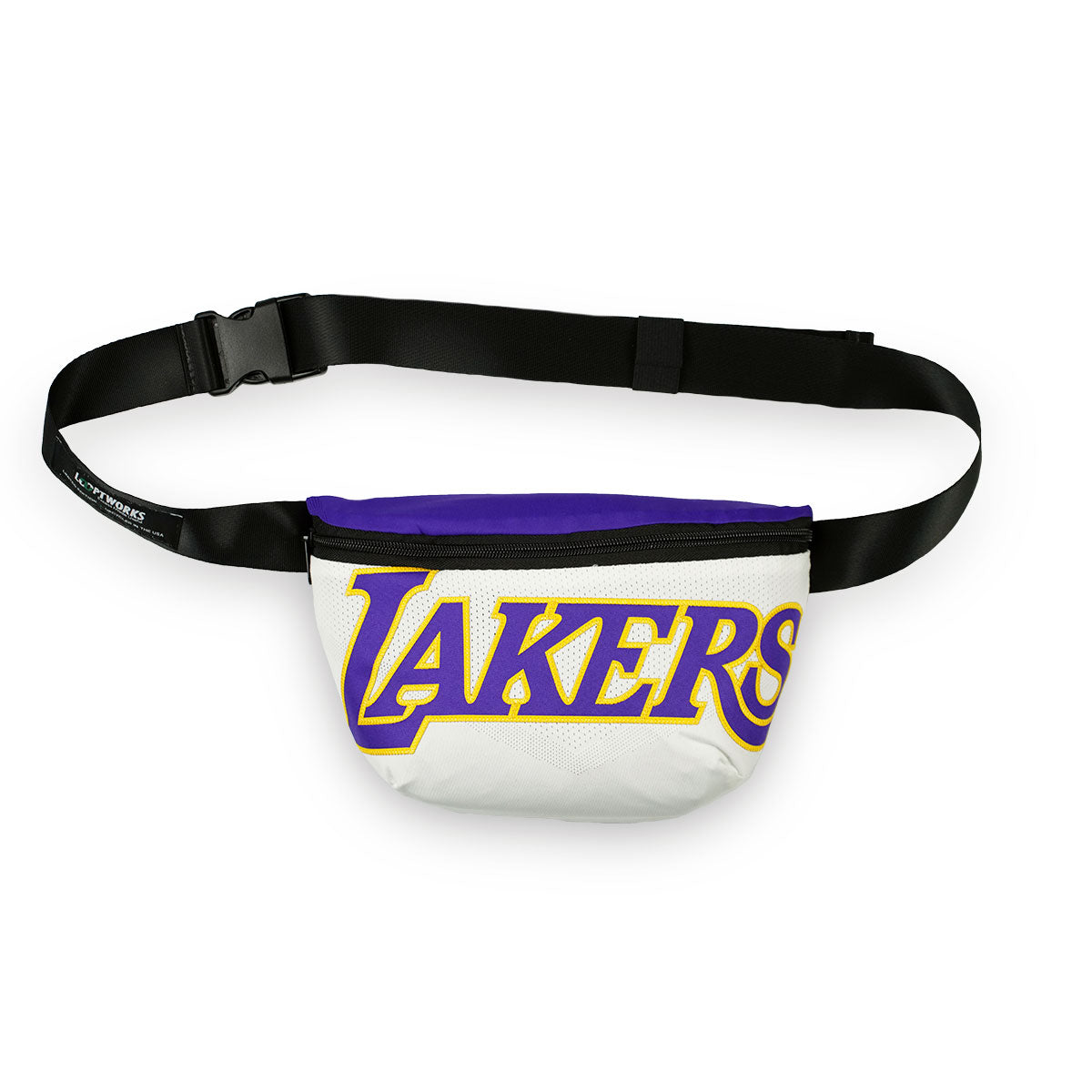 Los Angeles Lakers Upcycled Jersey Waist Pack