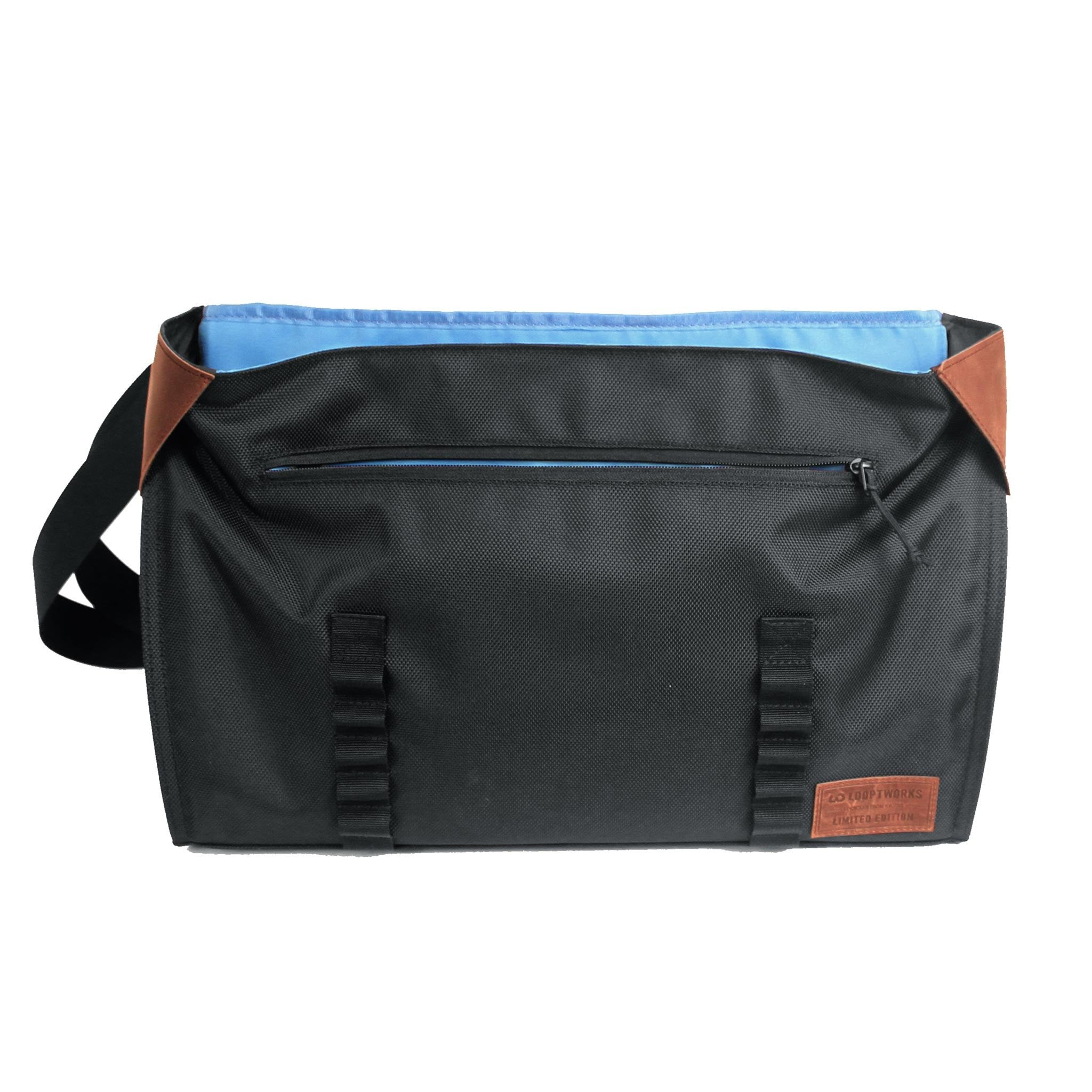 Northwest messenger bag open view