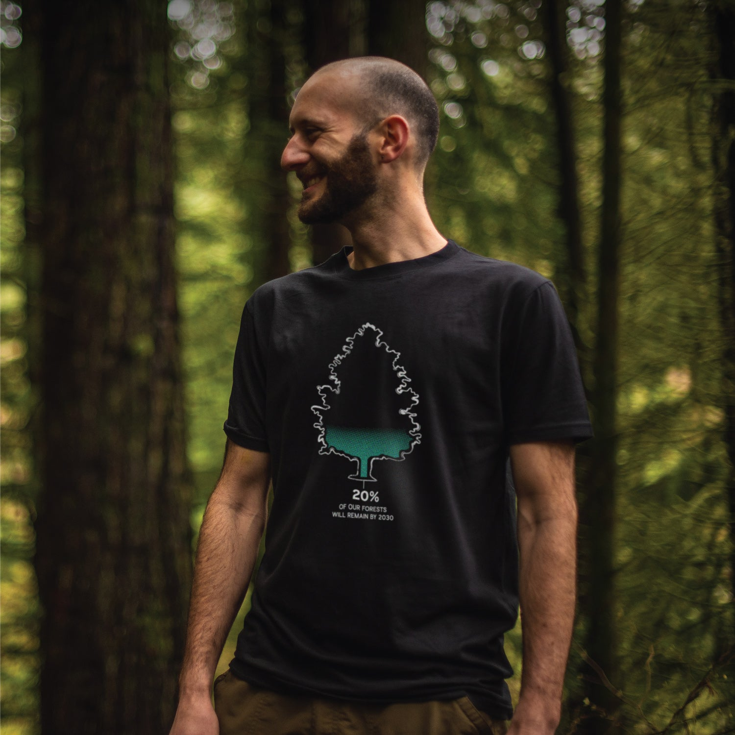 Men's Reforestation T-Shirt Apparel - Looptworks
