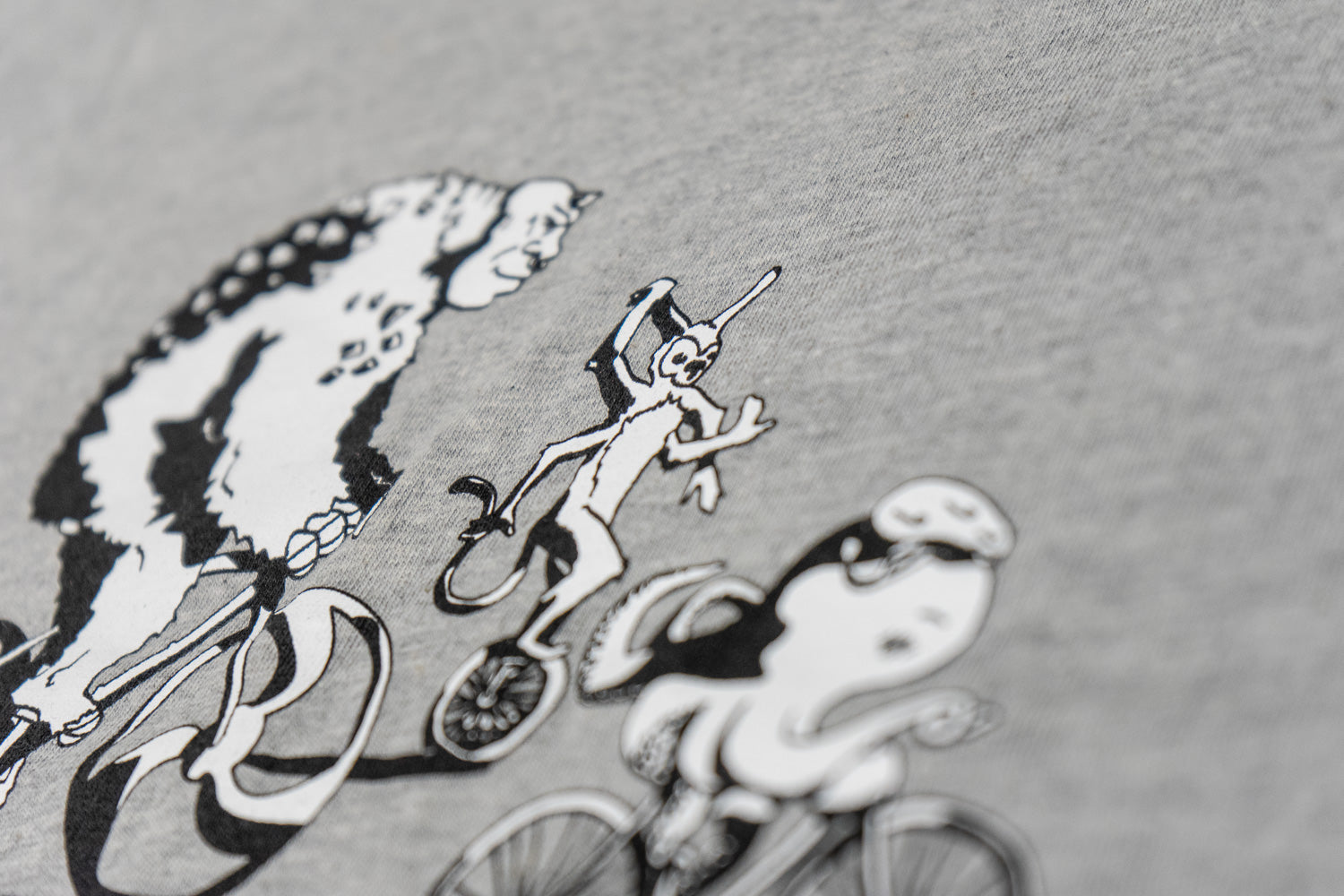 Women's Bike More Monsters T-Shirt Apparel - Looptworks