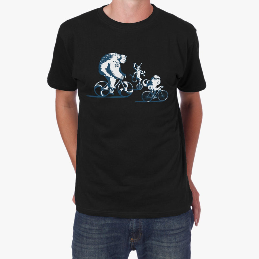 Men's Bike More Monsters T-Shirt Apparel - Looptworks